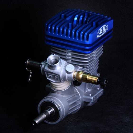 PT37HS3  37 PRO Heli Exhaust Engine