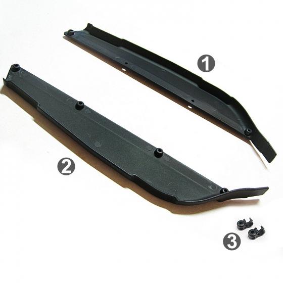 0011050-1 側板及油管固定座塑膠零件包