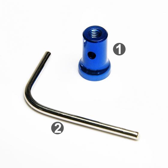 0011302AB-1  單孔-排氣管固定座組